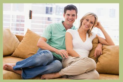 2 sitzer sofa grau
