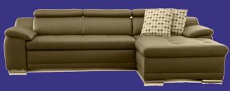 3 sitzer sofa leder