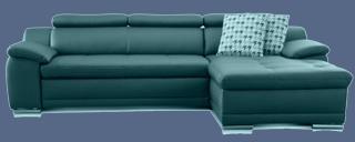 3er sofa leder