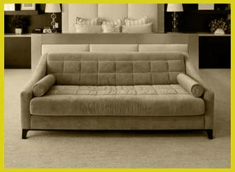 couch gelb