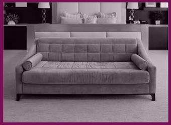 couch grau stoff