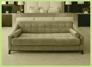 couch hellblau
