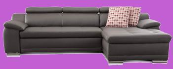 couch leder cognac