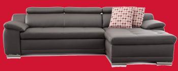 designer sofa leder
