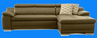 dickleder sofa