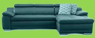 echtleder sofa mit schlaffunktion