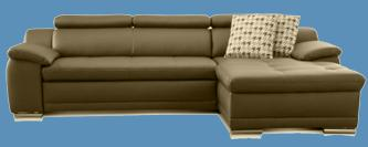 kunstleder couch schwarz
