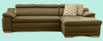 kunstleder sofa schwarz