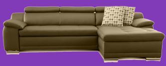kunstleder sofa weiß