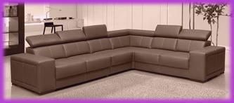 leder big sofa