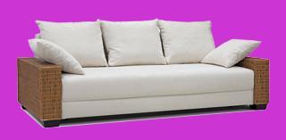 lounge sofa rattan