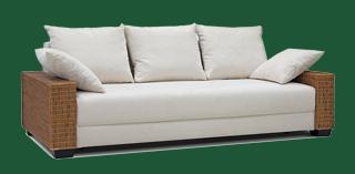 polyrattan sofa 3 sitzer