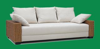 rattan couch