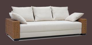rattan lounge sofa