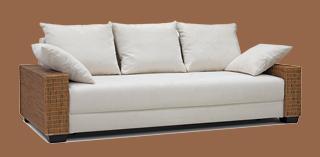 rattan sofa ausziehbar