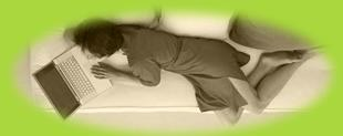 schlafcouch braun