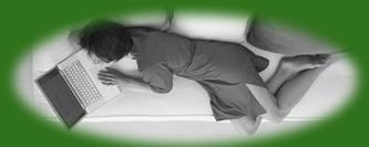 schlafcouch grün