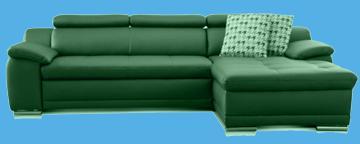 sofa braun leder