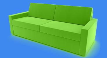 sofa cognac