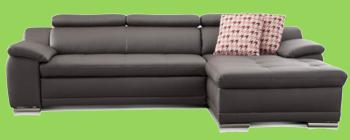 sofa cognac leder