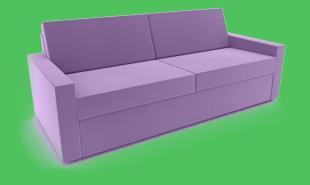 sofa gestreift