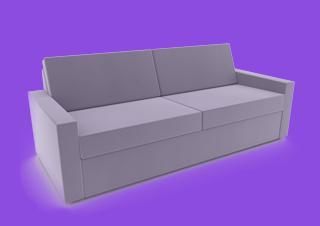 sofa hocker grau
