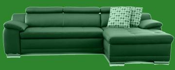 sofa leder cognac