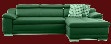 sofa leder weiß