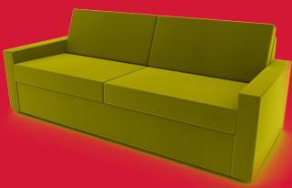sofa mit holzfüßen