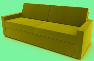 sofa mit lattenrost