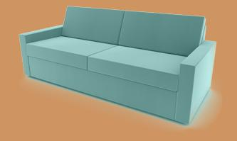 sofa mit motorischer verstellung