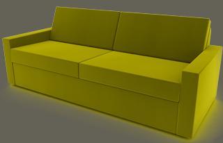 sofa mit tiefer sitzfläche