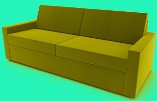 sofa mit verschiebbarer rückenlehne
