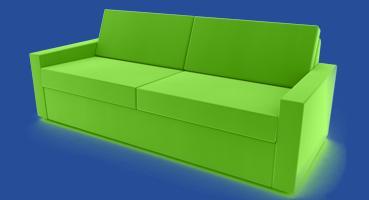 sofa mit verstellbarer rückenlehne