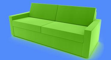 sofa rundecke