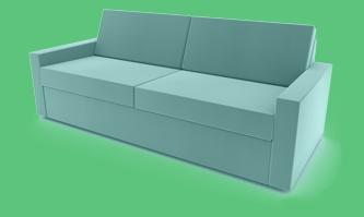 sofa senfgelb