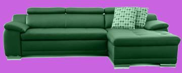 sofa vintage leder