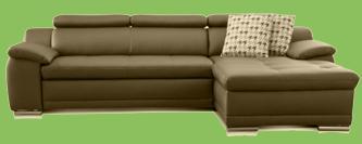 sofa weiß leder