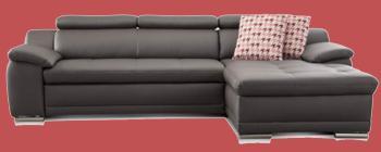 vintage sofa leder