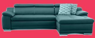 wildleder couch