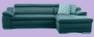 wildleder sofa