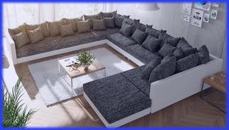 wohnlandschaft couch
